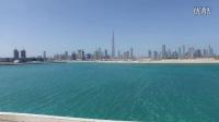 航拍 迪拜 城市风光