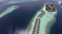 航拍 马尔代夫- vilamendhoo度假村 风光