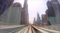 航拍 迪拜 旅游 建筑城市 风光