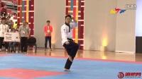 2016第十届跆拳道品势锦标赛-男子30以下个人中国VS韩国决赛