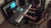 权力的游戏 - Light of the Seven (电子钢琴独奏 Piano Solo w- Sheet Music)