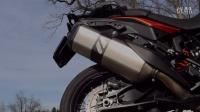 KTM 1190 Adventure- 原厂对比 REMUS钛合金排气