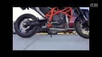 KTM Duke 690 Underfloor REMUS钛合金排气