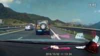 2016国庆都汶高速应急车道