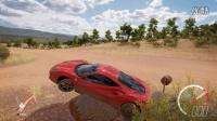 《极限竞速:地平线3》当你的法拉利卡在一块神奇的石头上