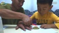 [傲仔小天地]亲子手工制作第3期树叶手工制作小刺猬,亲子乐园,亲子游戏