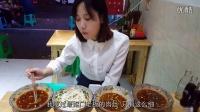 中国大胃王密子君(宵夜系列)连着吃了两家,四碗米粉和五碗银耳稀饭,吃播吃货美食!