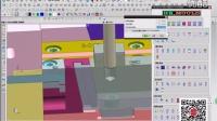 UG模具设计视频 模具 行位模拟