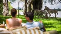 赞比亚维多利亚瀑布皇家利文斯顿安纳塔拉酒店 - 壮美的维多利亚大瀑布与殖民风
