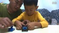[傲仔小天地]趣味玩具拼装第7期四驱赛车之冰川猎人,亲子乐园,亲子游戏