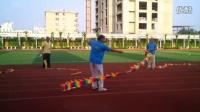 鄄城空竹艺术团习练舞龙