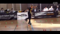 Fantastic little girl !! Rollerblade Freestyle Slalom World Championship Paris 2-体育