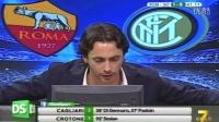 Diretta Stadio 7Gold Roma Inter 2-1 Dzeko e Manolas piegano