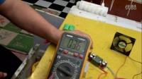测试。连续可调焦耳小偷电路,带动散热风扇电压稳定度。