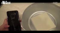 三星S7最大亮点?看日本搞机达人用它在水中切豆腐