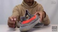 adidas Yeezy Boost 350 V2  Beluga Solar Red 实物细节近赏