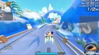 许小新的QQ飞车游戏实况;银色之翼完全碾压对手不给机会!