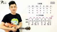 张SIR尤克里里零基础教学 第9课:音程与和弦 基础乐理讲解_标清