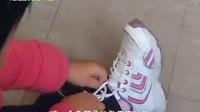 让宝宝教你系鞋带!