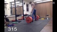 【马丁健身】健身励志!大卫16岁男孩455磅级别硬拉&