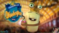 [火焰解说]蜗牛强尼脱口秀 第16期 搞笑儿童睡前小故事! 得意的小猪!