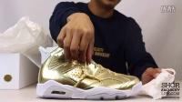 Air Jordan 6  Retro Pinnacle 'Metallic Gold' 实物细节近赏