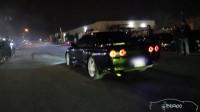改装R32 GT-R喷火直线加速