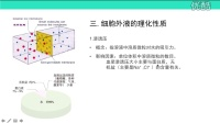 必修3第1章第1节细胞生活的环境(2):细胞外液的成分和理化性质