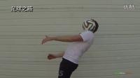 足球技巧丨花式足球之绕颈360度