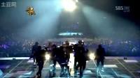091229 SBS歌谣大战-Billie Jean+Beat It[童敏赫海贤]