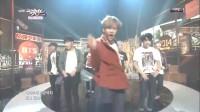 [高清现场] 141107  Music Bank 防弹少年团(BTS)  -- 荷尔蒙战争 现场版