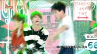 [高清现场]中字 141025@Music Core 防弹少年团(BTS) -- 荷尔蒙的战争  现场版