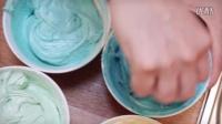 (如何制作迷你Ombré 蛋糕)How to Make Mini Ombré Cakes