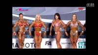 2016 IFBB西班牙王牌健身健美比基尼古典体能大赛女子综合【去健身】