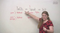TALK, SPEAK, TELL - What's the difference