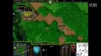 魔兽争霸3 霸王传说 INFI TH000解说 FOCUS VS zhouxixi 装完逼还想跑