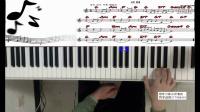 钢琴教学 即兴伴奏流行钢琴旋律通用指法