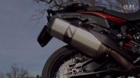 KTM 1190 Adventure原厂对比 REMUS钛合金尾段高清视频