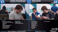SCGBALT - Round 1 - Mark Strassman vs Reid Duke