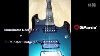 Dimarzio Comparison - Illuminator set VS D-sonic & JP Custom