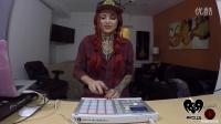 混音 百大dj 纹身美女djArius x Tinyc -用launchpad演奏 这手速绝了 曲子Mayor Apeshi
