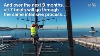 东风号进船坞进行升级改造