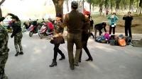 唐大明宫张玉龙水兵舞培训基地跳第六套(北京水兵舞)20161115