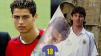 Cristiano Ronaldo vs Lionel Messi .. Transformation Before And After