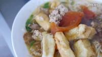 Vietnam Street Food - Giant Crab Ball Soup (Bun Rieu Cua) Compilation