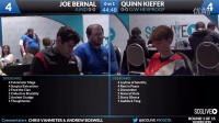 SCGCOL - Round 1 - Joe Bernal vs Quinn Kiefer (Modern)