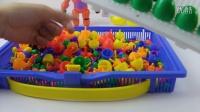 幼儿童3D立体百变拼图玩具宝宝