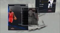 NBA2K17 My Team 开包抽球员啦!!各种蓝宝石!?