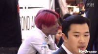 [FANCAM] 140811 Junsu and his candy at Yeouido Fansign