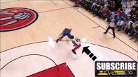 篮球教学第48课NBA球星实战动作录像分析Kevin Durant杜兰特双交叉步突破